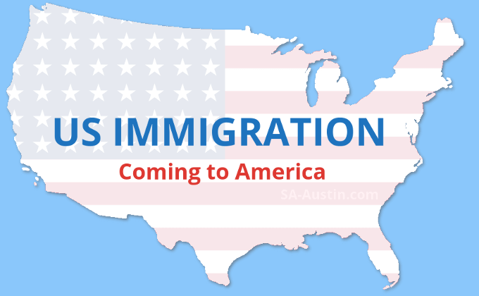 us immigration - coming to america