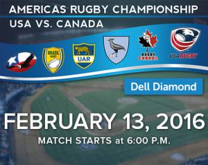 rugby - usa vs canada