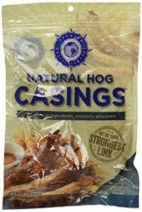 make boerewors - natural hog casing